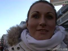 Czech Streets - Fucking Veronika on train