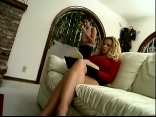 Young girl seduces her Nanny