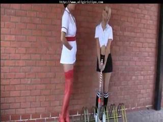 Busty Nurse Seducing The Innocent Schoolbabe lesbian girl on girl lesbians