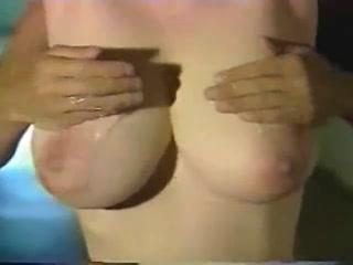 Japanese girl gets massaged her big tits