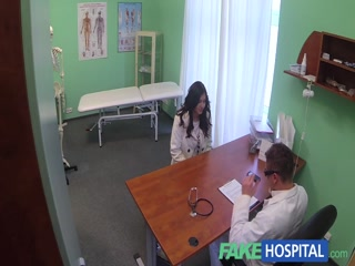 FakeHospital bad doctor seduces and fucks chubby girl