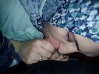 Arab bitch slut swallow aisan cock