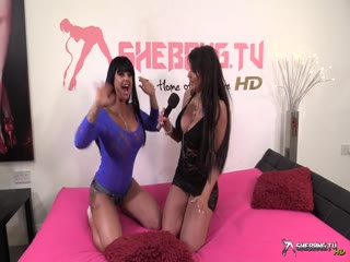 Shebang.TV - CANDY SEXTON & KERRY LOUISE Amateur teen lesbian fingering