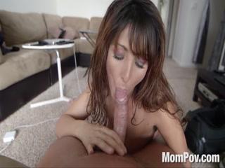 Milf bitch slut amateur sucking deep hard cock