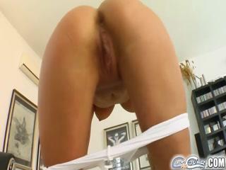 Blonde Mature Ginna Brigitta Sexy Love Cum Mouth