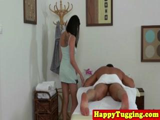 Couple massage and sex