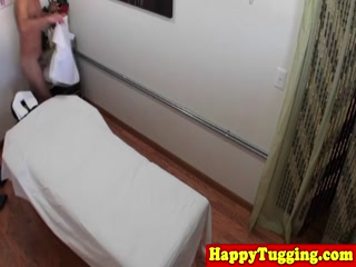 Guy Gets A Happy Ending After His Massage