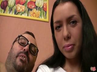 Torbe lets a hot Czech teen fuck him - HD Video