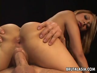 Asian Babe Getting Her Pussy Pounded Hard - HD Porn