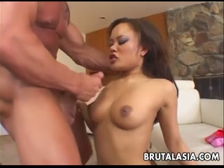 Big tits Asian throat fuked and banged deep - xxx videos