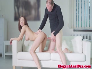 Classy young girl with sexy curve loves anal fuck - HD Film Porn Free