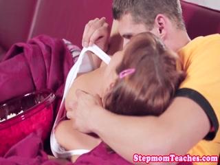 Trying to please her slutty stepmom - HD Film | Pornbraze.com