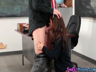 Latina schoolgirl milking cock - HD Film | Pornbraze.com