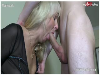 German amateur cougar fucking a young guy - HD Video | Pornbraze.com