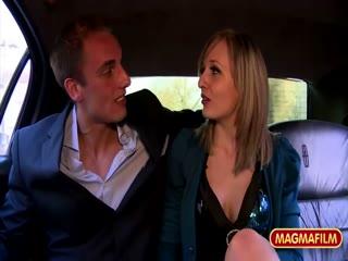 Rich boy fucks a German babe in the car - HD Video | Pornbraze.com