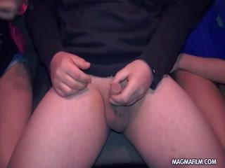 German girls giving handjobs to strangers - HD Film | Pornbraze.com