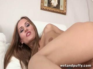 Sabrina drills all her holes till she squirts - HD Film | Pornbraze.com