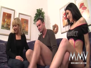 horny gay voyeur allowed to play with two hot boys