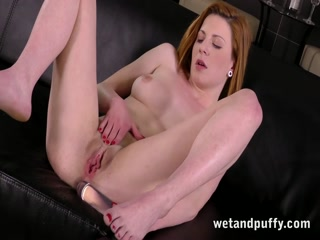 Sexy redhead babe in a seductive solo scene - HD Video | Pornbraze.com