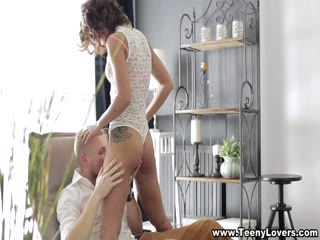 Hot Short Haired Woman Loves To Suck On Cock