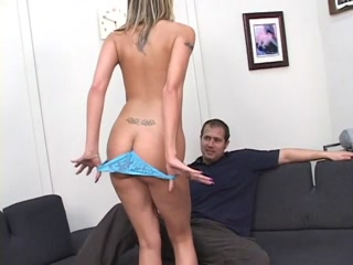 Sexy Blonde Babe Gets Her Tight Ass Fucked