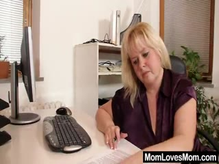 Brunette Milf Eats Out The Pussy Of Blonde One