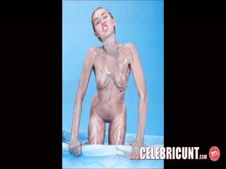 Slutty Miley Cyrus Nude Again