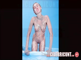 Miley Cyrus Nude and Naked