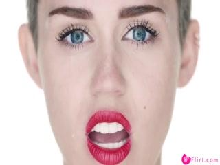 Miley cyrus wrecking ball porn edit
