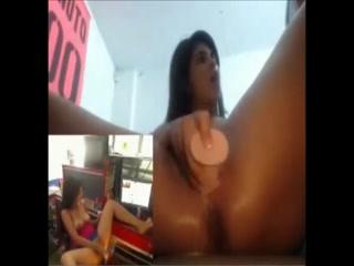 Latins at work porn