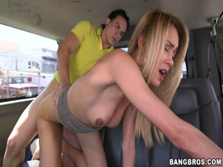 Petite Blonde Amateur Anal Sex On The Bus - Bangbus