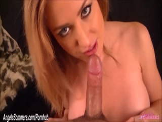 Hot blonde only fuck throat and titfuck