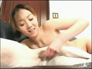 Asian dog porn getting creampie