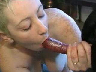 She Orgams when fuck dog