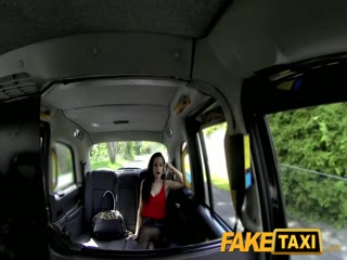 Fake Taxi brunette Petite gets fuck creampied