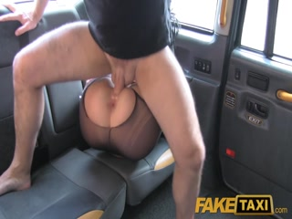 Fake Taxi anal fucking goth lady in car