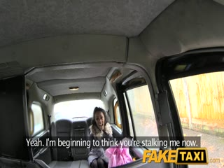 FakeTaxi Petite tight pussy loves the cock