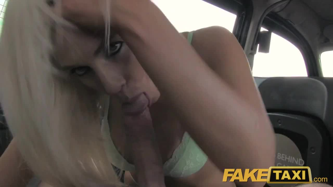 Fake Taxi Creampie For Hot Blonde In Taxi - Amateur Free -9699