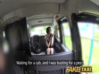 Fake Taxi Filthy British cock swallower