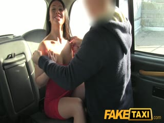 FakeTaxi Hot brunette needs good hard fucking