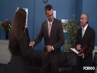 British sluts getting fucked during job interview - HD Braze