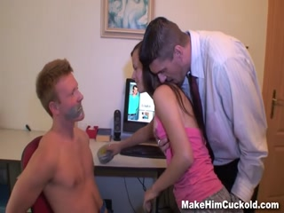 Punished with girlfriend fuck - HD Braze