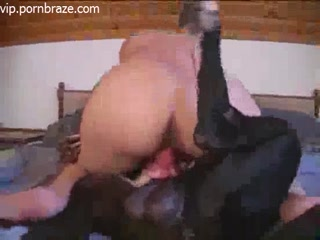Lustful Girl Rape Lucky Dog - sex dog