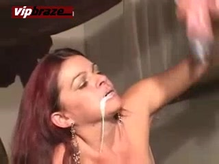Horse Cum Full Mouth